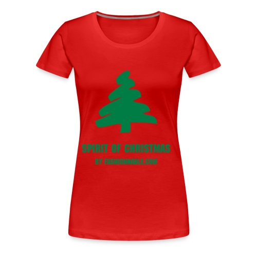 SPIRIT OF CHRISTMAS (Woman) - Women's Premium T-Shirt