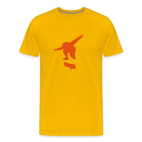 Skater Yellow n' Red - Men's Premium T-Shirt
