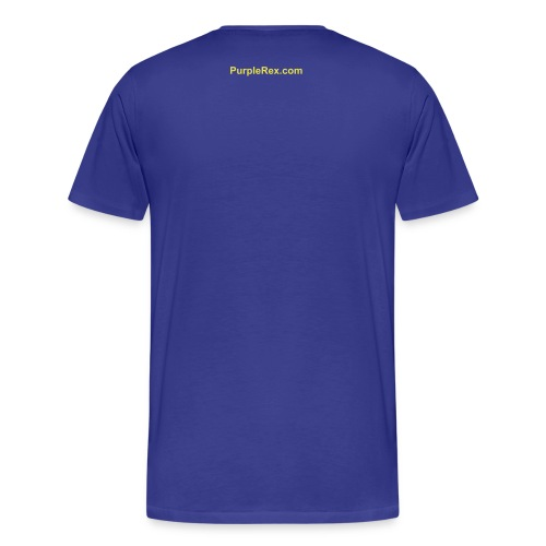 Insert Witty Comment Here T-Shirt (Royal) - Men's Premium T-Shirt