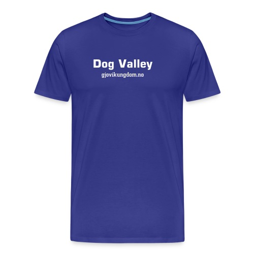 Dog Valley - Premium T-skjorte for menn