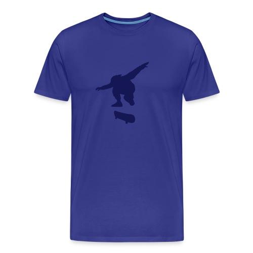 Skater Blue n' Black - Men's Premium T-Shirt