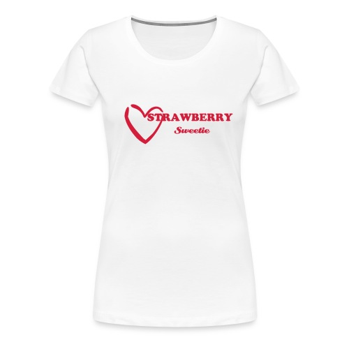 strawberry sweetie - Premium-T-shirt dam