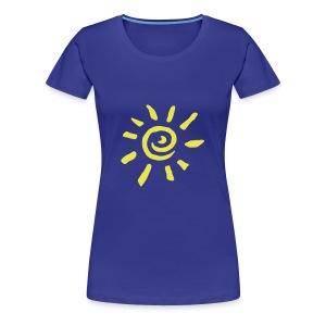 zonnetje pams - Vrouwen Premium T-shirt