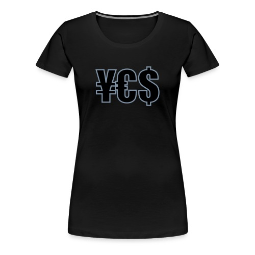BARCODE YES T-Shirt - Women's Premium T-Shirt
