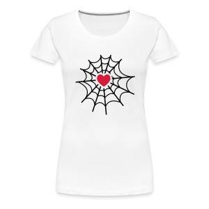 Spider Love - Camiseta premium mujer