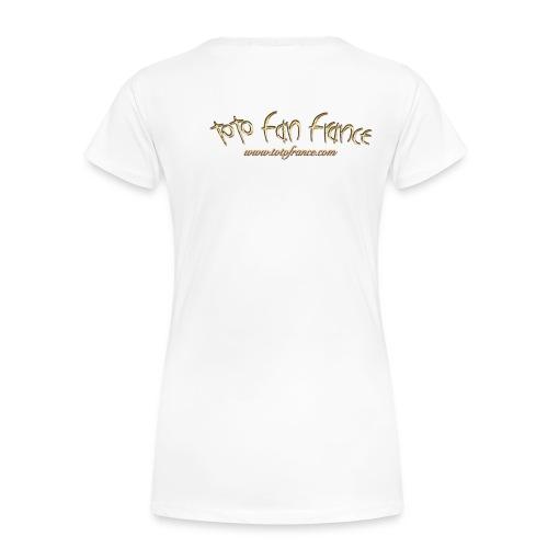 Tee-Shirt Femme Toto Fan France Ellipse n°1 - T-shirt Premium Femme
