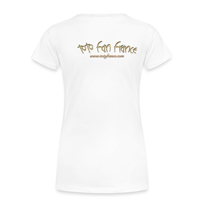 Tee-Shirt Femme Toto Fan France Ellipse n°1
