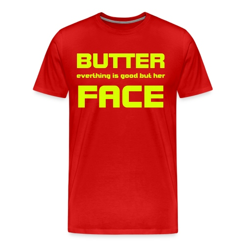 BF red yellow - Männer Premium T-Shirt