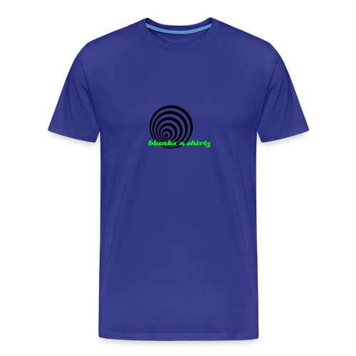 blueslimed - Premium-T-shirt herr