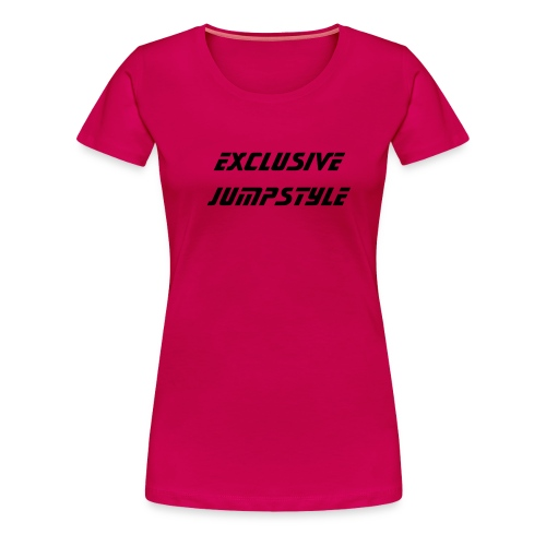 Exclusive jumpstyle - Vrouwen Premium T-shirt
