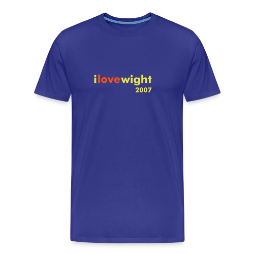 ILOVEWIGHT2007 - Men's Premium T-Shirt