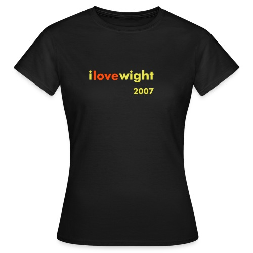ILOVEWIGHT2007 - Women's T-Shirt