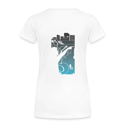 Technoclass Femme - Motif/Dos - T-shirt Premium Femme