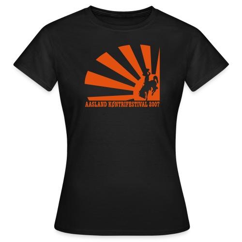 Offisiell AKF07 SkeeterTee (OBS! GAMMEL MODELL) - T-skjorte for kvinner