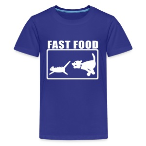 Fast Food - Teenager Premium T-Shirt