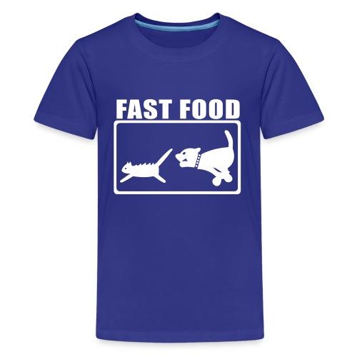 Fast Food - Teenager Premium T-Shirt