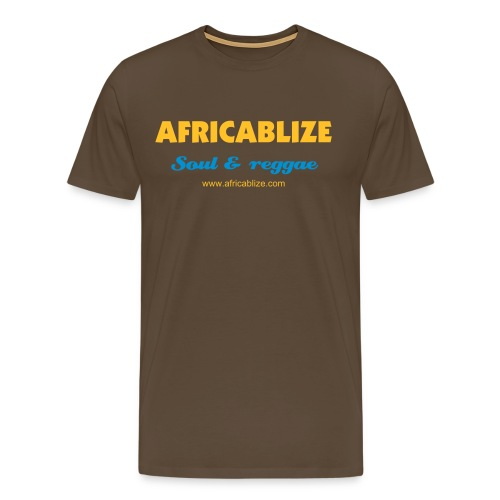Africablize-TS1-Homme - T-shirt Premium Homme