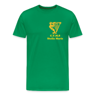 T-Shirts ~ Men's Premium T-Shirt ~ Stella Maris - without whom there would be no Hibs today - Free Colour Selection