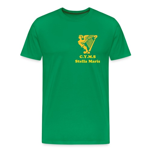 Stella Maris - without whom there would be no Hibs today - Free Colour Selection - Men's Premium T-Shirt