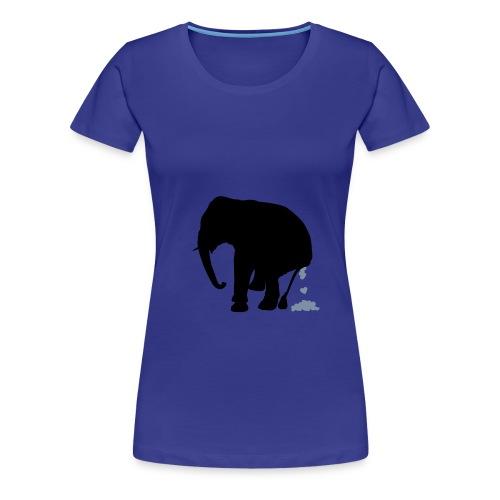 Jumbo Blau - Frauen Premium T-Shirt