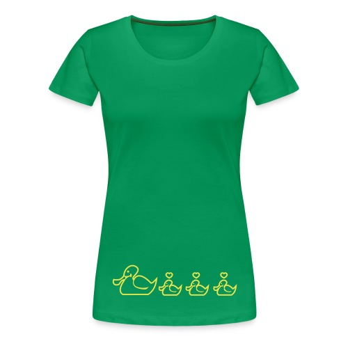Ententanz - Frauen Premium T-Shirt
