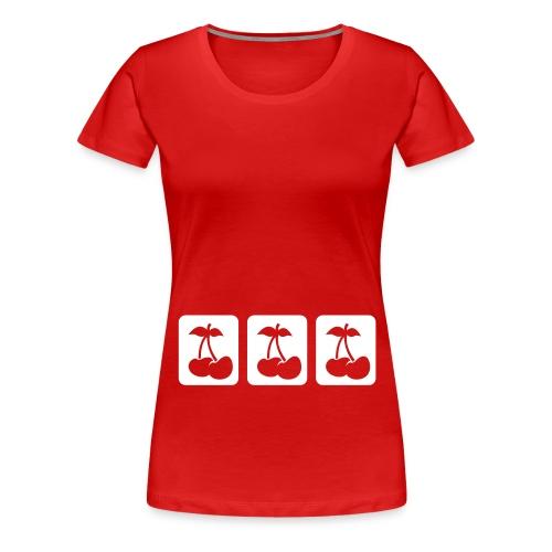 Cherry-Lady - Frauen Premium T-Shirt