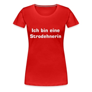 Girlie-Shirt rot (Damen) - Frauen Premium T-Shirt