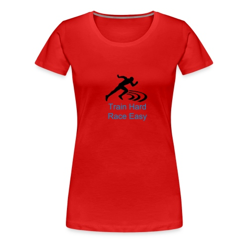 Train Hard wmns - Women's Premium T-Shirt