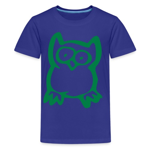 Child's owl tee - Teenage Premium T-Shirt