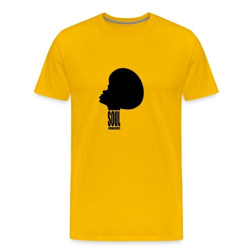 TMB mens T shirt Yellow - Men's Premium T-Shirt