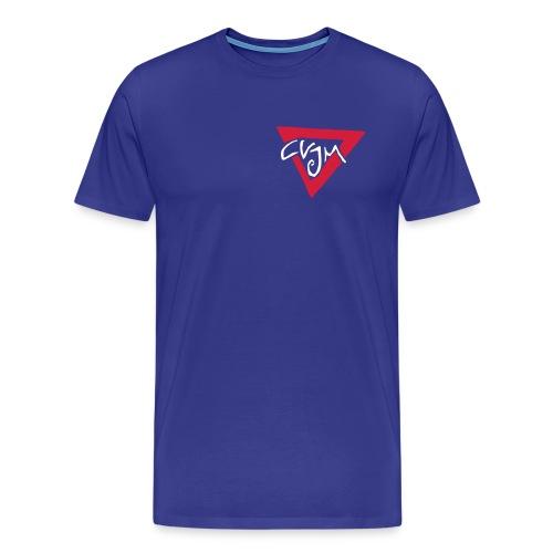 T-Shirt mit Logo vorn - Männer Premium T-Shirt
