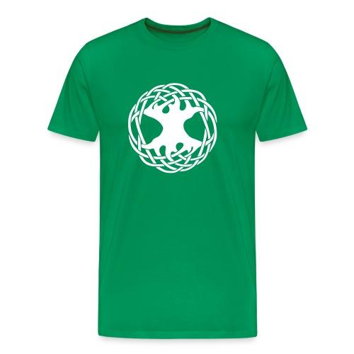 Celtic Tree - Männer Premium T-Shirt