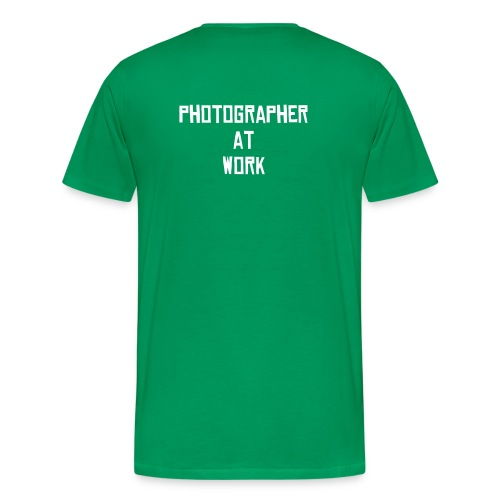 click - photographer @ work - Männer Premium T-Shirt