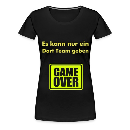 Dart Team The Outsiders 2008 W - Frauen Premium T-Shirt