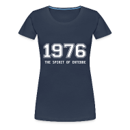 T-Shirts ~ Frauen Premium T-Shirt ~ Girlie-Shirt 1976