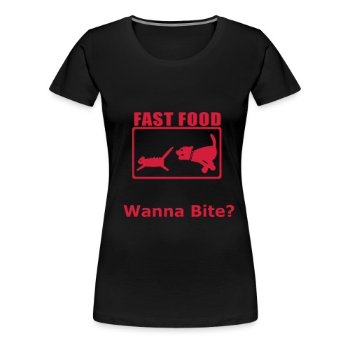Fast Food Top - Women's Premium T-Shirt