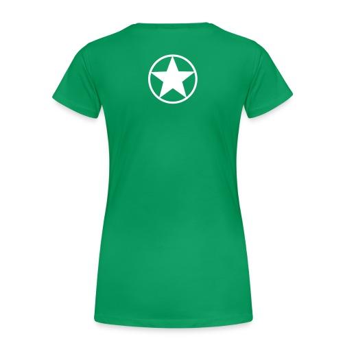 KONG-SKINY TEE (female) - Women's Premium T-Shirt