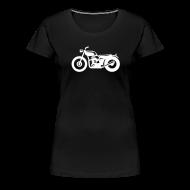 Tee shirts ~ T-shirt Premium Femme ~ moto femme