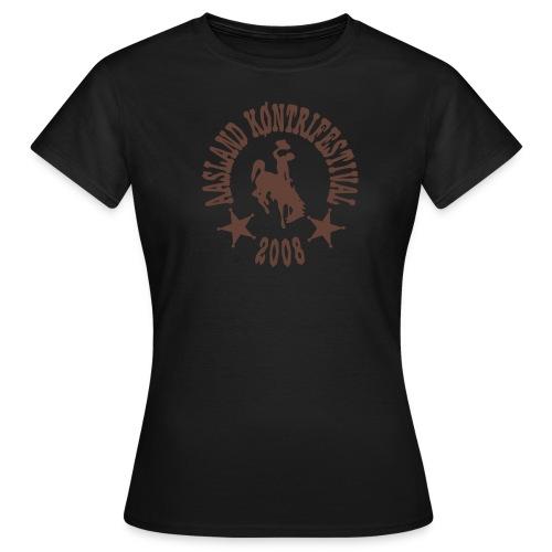 Offisiell AKF08 CarleneTee (OBS! GAMMEL MODELL) - T-skjorte for kvinner