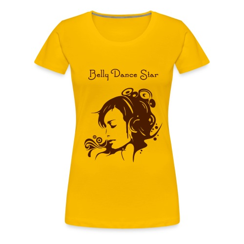 Belly Dance Star - Frauen Premium T-Shirt