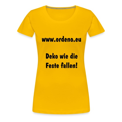 FC Ordeno United SUPERFAN - Frauen Premium T-Shirt
