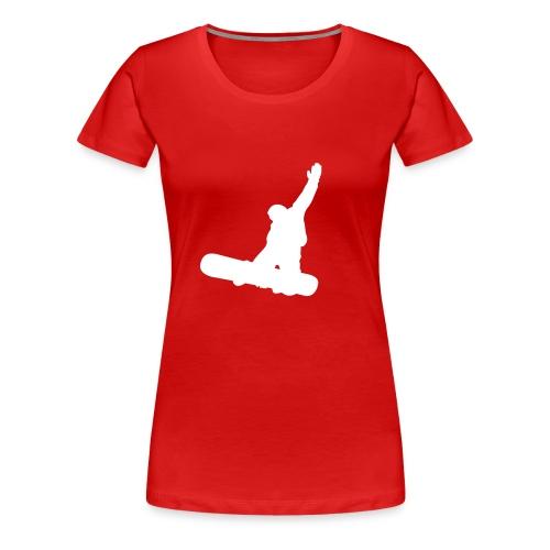 Boarder Girlie - Frauen Premium T-Shirt