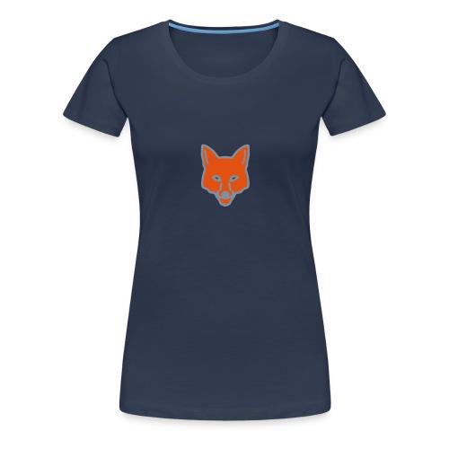 FOX GROUTER (WOMENS) - Women's Premium T-Shirt