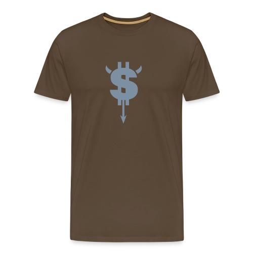 Devil $ - T-shirt Premium Homme