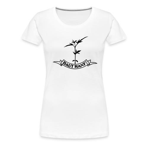 tshirt hanfpflanze - Frauen Premium T-Shirt