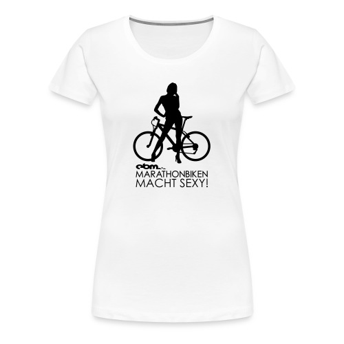 Sexy White Girl - Frauen Premium T-Shirt