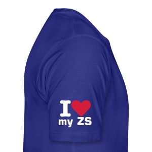 I love my ZS sleeve - Men's Premium T-Shirt