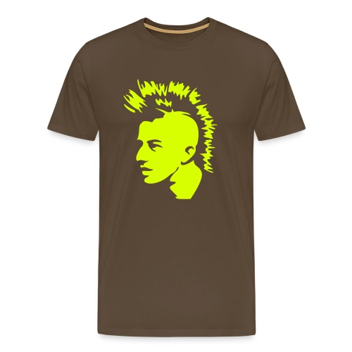 Mohawk Logo Tee - Men's Premium T-Shirt