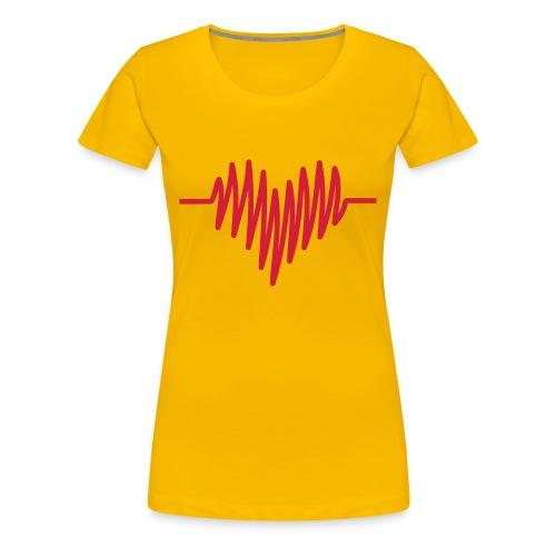 Heart rhythm - Vrouwen Premium T-shirt