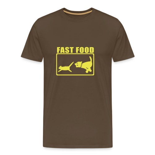 Fast food - T-shirt Premium Homme